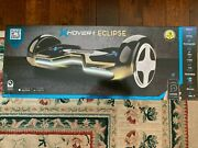 Hover-1 Eclipse W/8 In Wheels | Ultrabright Customizable Led | Bluetooth Speaker