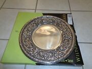 Wilton Armetale Pewter Dinner Plates William And Mary Plate Platter Tray 13