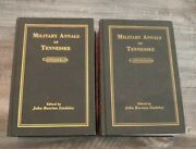 The Military Annals Of Tennessee, Confederate, Volume 1and2 John Berrien Lindsley