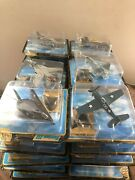 Vintage Lot Of 29 Maisto Tailwinds Collector Series Die Cast Army Navy Planes