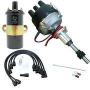 Electronic 8n12127b Side Mount Ignition Distributor And Coil Ford 2n 8n 9n Tractor