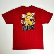 Vintage 2002 Naruto Shonen Jump Anime T-shirt Size Large Deadstock New With Tags