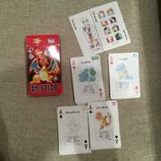 Nintendo Pokemon Red Playing Cards Card Initial Box
