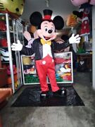 Expedite Mickey Mouse Mascot Costume Party Character Birthday Halloween Cosplay