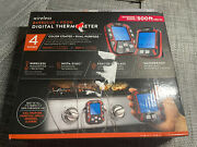 Maverick Xr-50 Wireless Barbecue + Food Thermometer Waterproof W/2 New Probes