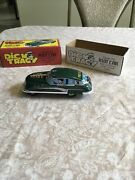 Dick Tracy Classic Tin Riot Car With Authentic Siren Sound 2002 Schylling