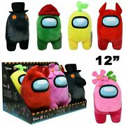 12 Toikido Among Us Official Premium Soft Plush Toy Nwt Licensed Pick Color
