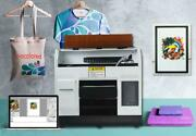 Dtg Printer For T-shirt Flatbed A4 Automatic T Shirts Printing Machine Automatic