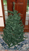 Vintage 1965 7andrsquo Green Scotch Pine Artificial Christmas Tree