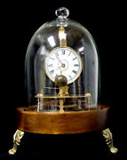 Mystery Briggs Rotary Conical Pendulum Glass Dome Flying Ball Clock