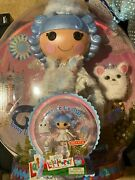 Lalaloopsy Collectors Edition Ivory Ice Crystals New Sealed Full Size With Mini