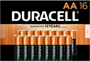 🔋duracell Copper Top Aa Alkaline 16/pack Aa Batteries Long Lasting Durable 🔋