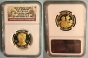 2011-w Eliza Johnson First Spouse 10 Gold Proof Coin Ngc Pf70 Pr70  No Spots