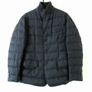 Secondhand Moncler Down Jacket Long Sleeves/zip-up/winter Gray