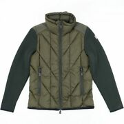 Moncler Grenoble Knit Switching Down Cardigan Mens Ghana Jacket Zip Up E2-19103