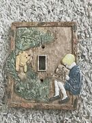Classic Pooh Light Switch Cover Plate