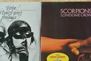 Scorpions Born To Touch Your Feelings Double Lp + Lonesome Crow Lp Vinyl Sealed