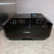 Canon Pixma Mx922 Wireless Office All-in-one Printer With Ink Tested Working