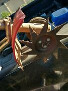 Mantis Tiller Drive Gearbox Transmission And Shaft. With Shield And Edger Attach