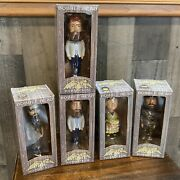 Lot Of 5 New Duck Commander 7 Duck Dynasty Bobbleheads Willie 2 Jase Si Kay
