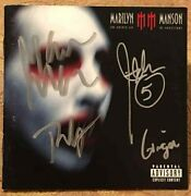 Marilyn Manson Band Signed Autograph Cd Cover Twiggy Ginger Fish John 5 Rare
