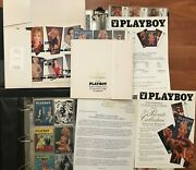 1993 Playboy Cards Collection Base + Promo + Chase Pamela Anderson Autograph Etc