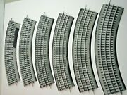 O Scale Lionel Lot Of 6 Used 0-36 Full Curve Fast Track
