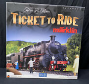 Ticket To Ride Marklin German Map Complete Limited Edition Oop Rare Euc