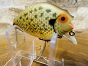 Heddon Punkinseed 740 Vintage Wood Lure In Absolutely Amazing Condition