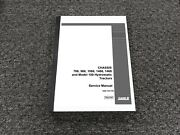 Case Ih 766 966 1066 1466 1468 100 Hydrostatic Tractor Chassis Service Manual