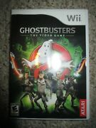 Ghostbusters The Video Game Nintendo Wii, 2009 Complete Great