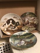 """1986 The Pintail And """"gadwall"""" Collection Plate By Bart Jenner"""