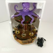 Read Lemax Michaels Exclusive Spooky Town Octo-swing Halloween Carnival Complete