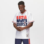 Mitchell Ness Usa 1992 Pippen Navy Warm-up Pants Authentic Shooting Shirt Jacket