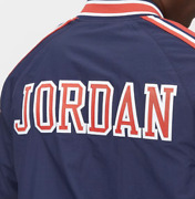Mitchell And Ness Usa 1992 Jordan Navy Warm-up Authentic Warm Up Shooting Jacket