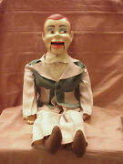 1950's Paul Winchell's Jerry Mahoney 24 Ventriloquist Dummy String Mouth