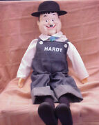 Oliver Hardy - 24 Ventriloquist Dummy Doll W/hat And Shoes- Larry Harmon Picture