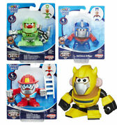 New Mr. Potato Head Transformers Rescue Bots Mixable Mashable Heroes Set Of 4