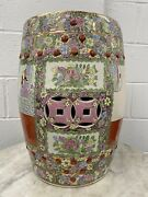 Chinese Antique Hand Painted Garden Seat