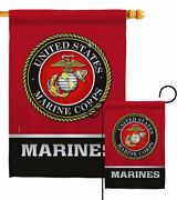 United State Marines Garden Flag Armed Forces Decorative Yard House Banner
