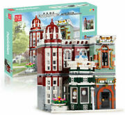 Mould King Antique Store Model Nr.16005 Building Bricks Pieces 3050 In Boxed
