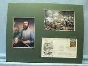 Battle Of Chancellorsville And The Death Of Stonewall Jackson And First Day Cover