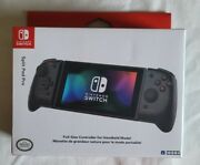 Hori - Split Pad Pro Handheld Controller For Nintendo Switch - Clear Black New