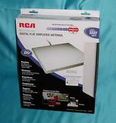 """Rca Ant1550 Digital Flat Amplified Antenna """"new In Factory Retail Box"""" Wowsale"""