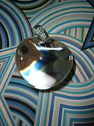 Vintage And Co. Crystal Apple Paperweight