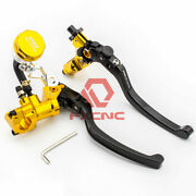 7/8 22mm Motorcycle Hydraulic Brake Clutch Lever Master Cylinder For 300-1800cc