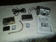 3-dgital Cameras 2 Canon A70 And Powershot's Sd110, Sd400 W 2 16gb Sd Cards + Gc