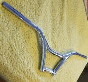 Powerlite Bmx Handlebars Chrome. Look New. Late 90s Authentic💥fits Gt Hutch Elf