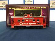 Mth Chessie 1811 Steel Center-cupola Steel Caboose 20-91354