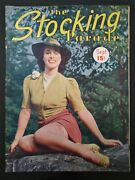 The Stocking Parade Magazine 1938 Sept Live Bait Reno Stop Overmiracle In Silk